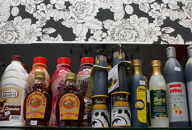 Botellas variadas